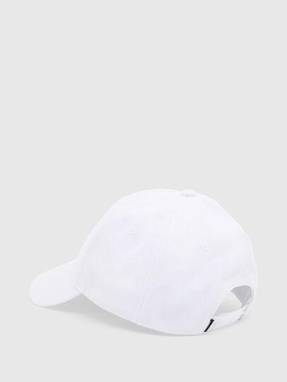 Diesel - CAP-CUTY, Bianco - Cappelli - Image 2