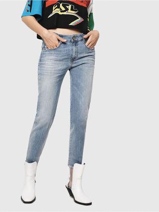 524cd7da08bf BABHILA-MT 081AG Damen: Slim Jeans Schwarz/Dunkelgrau | Diesel