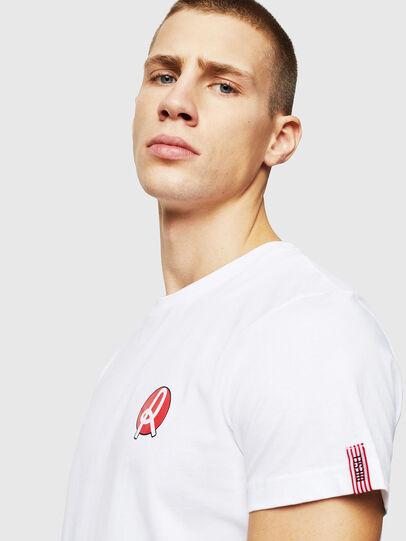Diesel - LR-T-DIEGO-VIC, Weiß - T-Shirts - Image 3