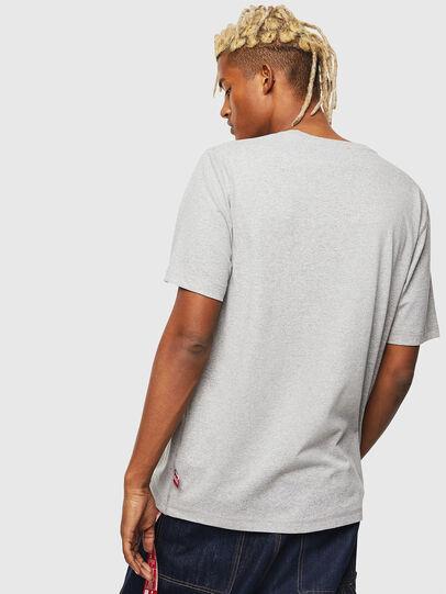 Diesel - CC-T-JUST-COLA, Grau - T-Shirts - Image 3