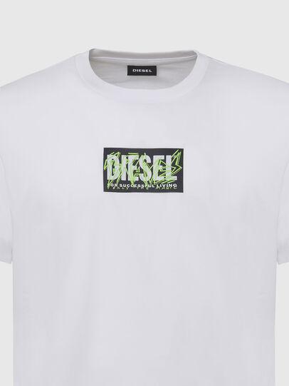 Diesel - T-DIEGOS-N34, Weiß - T-Shirts - Image 3