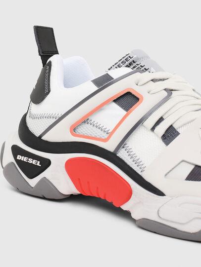 Diesel - S-KIPPER LOW TREK II, Weiß - Sneakers - Image 4