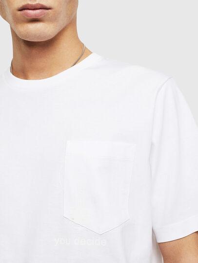 Diesel - T-JUST-POCKET-T17, Weiß - T-Shirts - Image 3