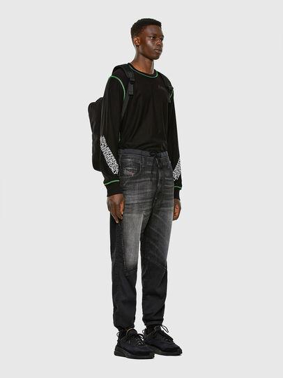 Diesel - D-Skint JoggJeans® 069PC, Schwarz/Dunkelgrau - Jeans - Image 6