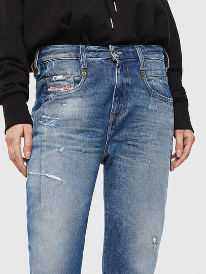 Diesel - Fayza 0097B, Mittelblau - Jeans - Image 3