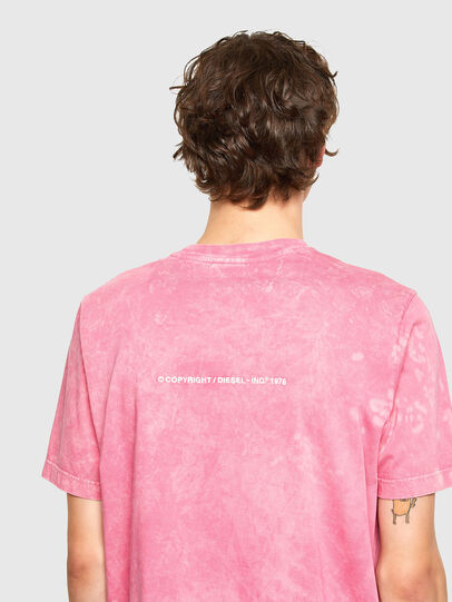 Diesel - T-JUST-E2, Rosa - T-Shirts - Image 3
