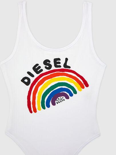 Diesel - UFBY-BODY-P, Weiß - Bodys - Image 3