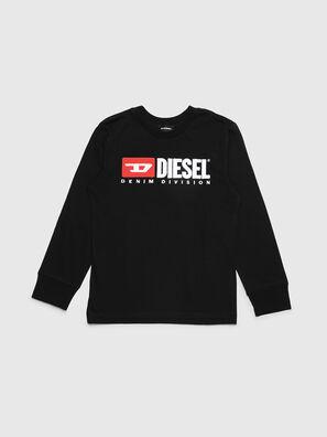 TJUSTDIVISION ML, Schwarz - T-Shirts und Tops