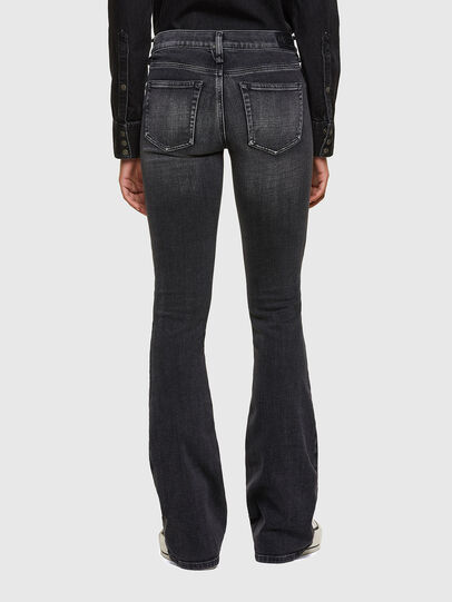 Diesel - D-Ebbey 009PW, Black/Dark grey - Jeans - Image 2