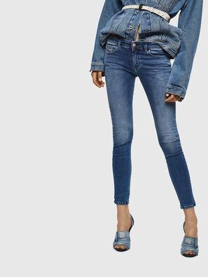 Slandy Low 084NM, Mittelblau - Jeans