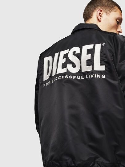 Diesel - J-AKIO-A, Schwarz - Jacken - Image 2
