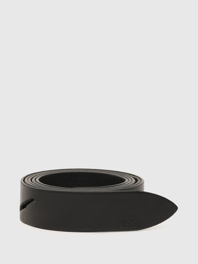 Diesel - B-KNOTT, Noir - Ceintures - Image 1