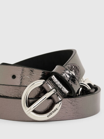 Diesel - B-OLIMP, Grey/Black - Belts - Image 2
