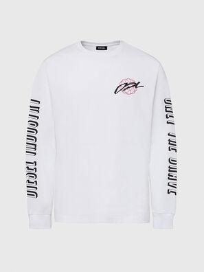 T-JUST-LS-X92, Weiß - T-Shirts