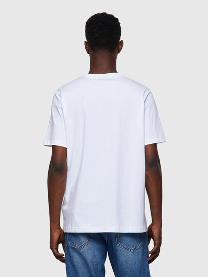 Diesel - T-JUST-A35, Bianco - T-Shirts - Image 2