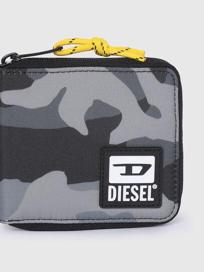 Diesel - ZIPPY HIRESH S II, Gris/Noir - Portefeuilles Zippés - Image 4