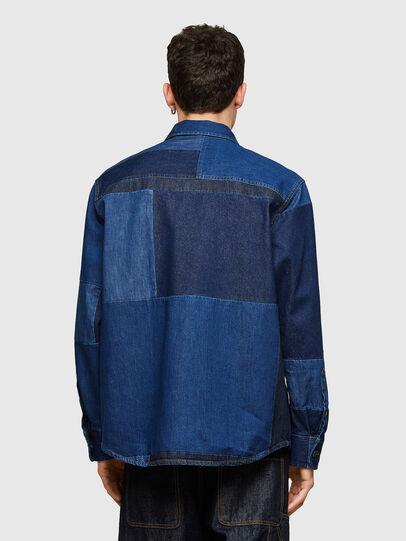 Diesel - D-HORUS, Bleu - Chemises en Denim - Image 2