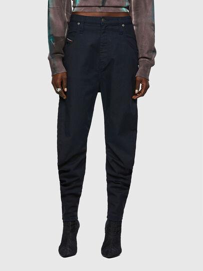 Diesel - D-Plata JoggJeans® 069WK, Bleu Foncé - Jeans - Image 1