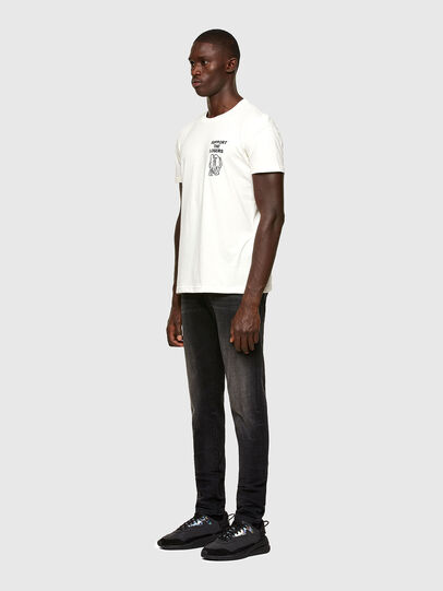 Diesel - T-DORYMO-A1, Weiß - T-Shirts - Image 5