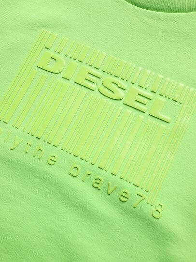 Diesel - SCOLIGCODE OVER, Neongrün - Sweatshirts - Image 3