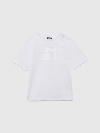 Diesel - TUDERCODE OVER, Blanc - T-shirts et Hauts - Image 1