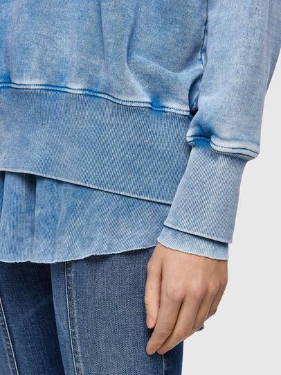 Diesel - F-ROXXY-B1, Blau - Sweatshirts - Image 4