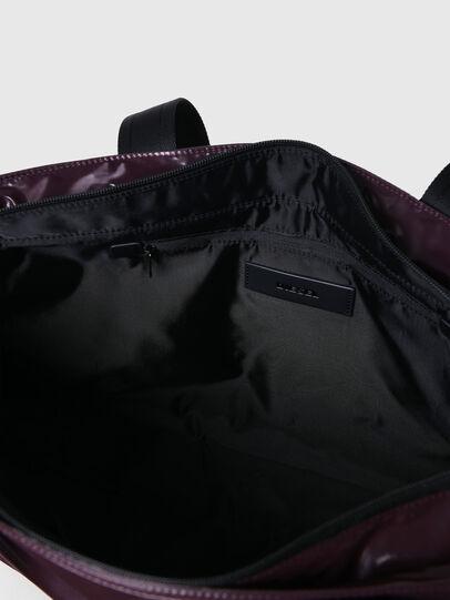 Diesel - F-BOLD SHOPPER III, Dark Violet - Shopping and Shoulder Bags - Image 4