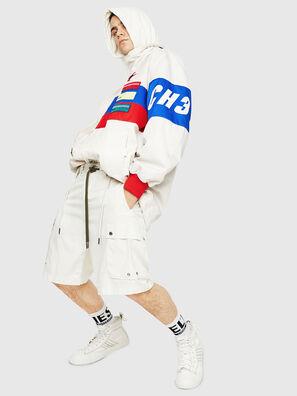 P-AIMI-P, Weiß - Kurze Hosen