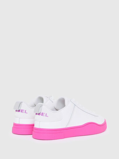 Diesel - S-CLEVER LOW LACE W, Blanc/Rose - Baskets - Image 3