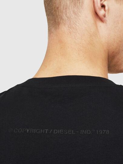 Diesel - T-JUST-T30, Schwarz - T-Shirts - Image 4