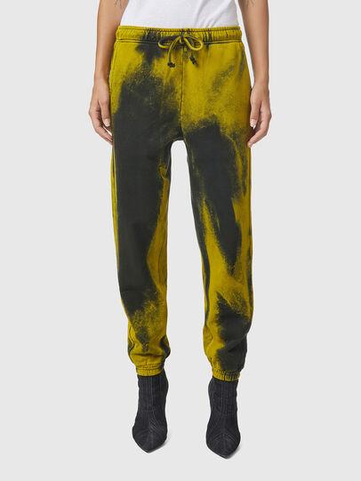 Diesel - P-CALTON-RIB-B1, Jaune/Vert - Pantalons - Image 2