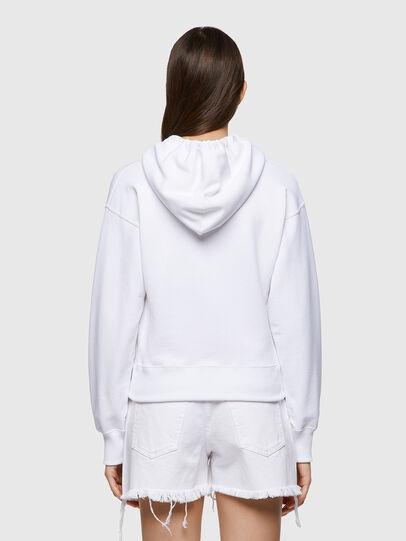 Diesel - F-LYM-HOOD-C.C, Blanc - Pull Cotton - Image 2