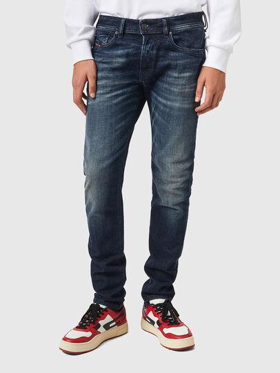 Diesel - Sleenker 069XD, Blu Scuro - Jeans - Image 1