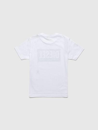 Diesel - TJUSTLOGOB-R, Weiß - T-Shirts und Tops - Image 2