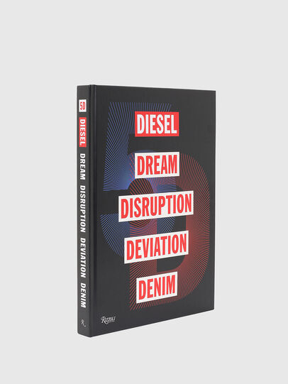 Diesel - 5D Diesel Dream Disruption Deviation Denim, Schwarz - Bücher - Image 1