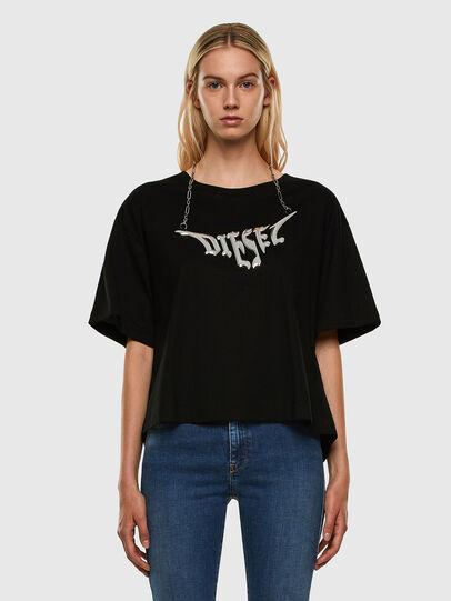 Diesel - T-BOWLY, Schwarz - T-Shirts - Image 5
