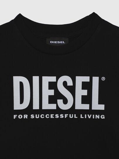 Diesel - TJUSTLOGOB-R, Noir - T-shirts et Hauts - Image 3