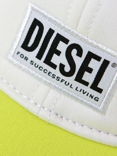 Diesel - DURBO, White/Yellow - Caps - Image 3