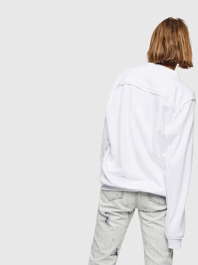 Diesel - F-LYANY-E, Weiß - Sweatshirts - Image 2