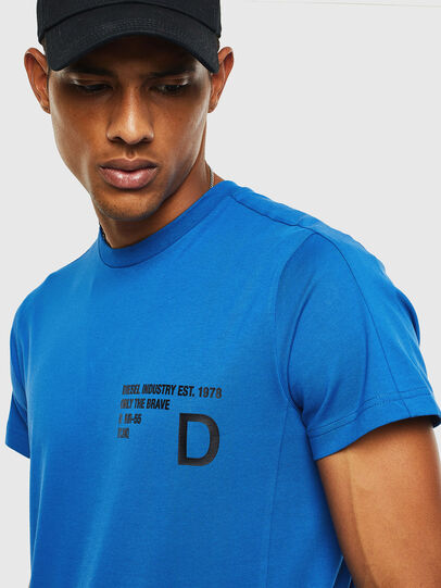 Diesel - T-HOVER, Blau - T-Shirts - Image 3
