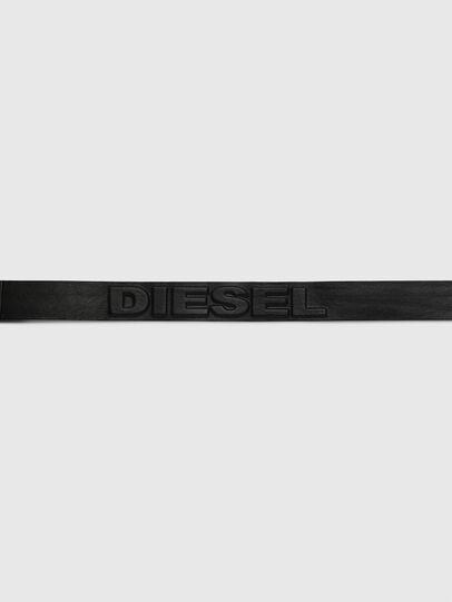 Diesel - B-RING, Noir - Ceintures - Image 4