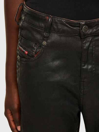 Diesel - FAYZA JoggJeans® 069PG, Schwarz/Orange - Jeans - Image 3