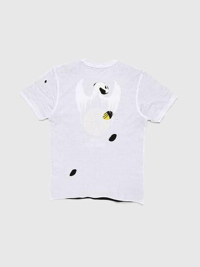 Diesel - TJUSTLAY, Weiß/Schwarz - T-Shirts und Tops - Image 2