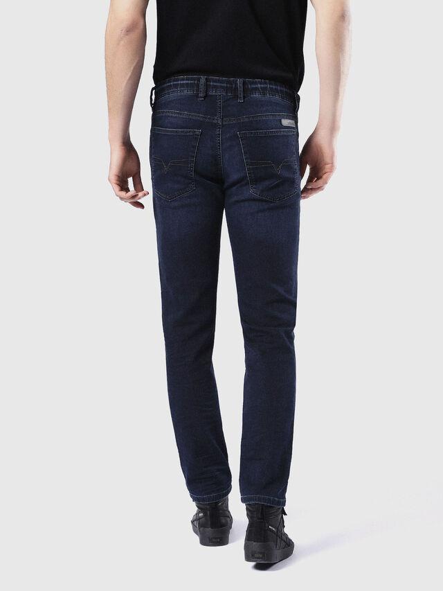 Diesel - Waykee JoggJeans 0842W, Dunkelblau - Jeans - Image 3