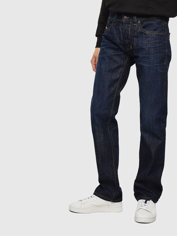 Larkee 0806W, Dunkelblau - Jeans