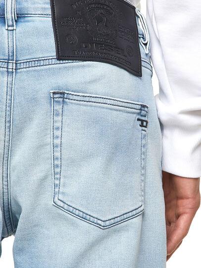 Diesel - D-Strukt JoggJeans® Z69VL, Hellblau - Jeans - Image 4