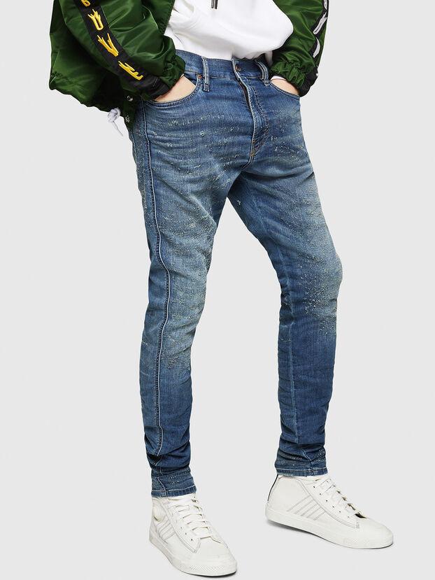 D-Reeft JoggJeans 069HG, Mittelblau - Jeans