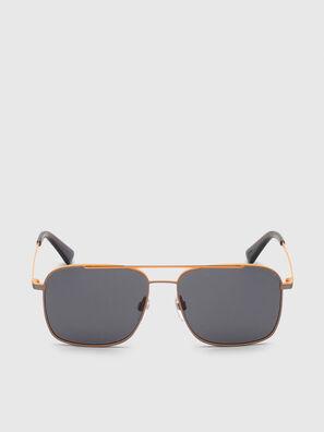 DL0295, Orange/Schwarz - Sonnenbrille