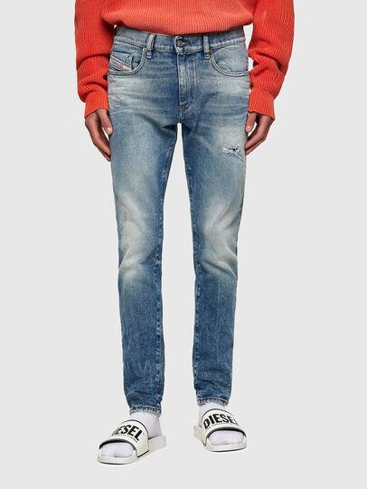 Diesel - D-Strukt 009MW, Blu medio - Jeans - Image 1