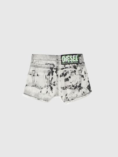 Diesel - PRIFTY, Bianco/Nero - Shorts - Image 2